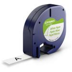 DYMO 91220 (S0721520) DirectLabel-etikettes, 12mm x 4m