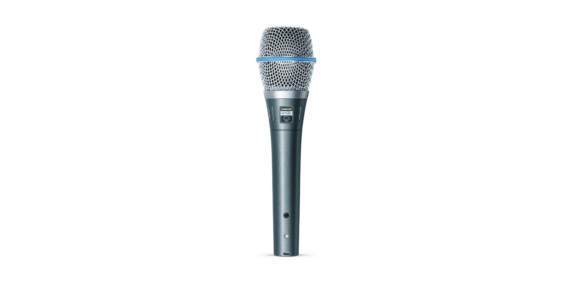Shure BETA 87A Studio microphone Black