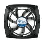 ARCTIC Alpine 11 Pro Rev.2 - Intel CPU Cooler with Vibration Absorption