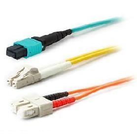 AddOn Networks ADD-LC-LC-5M5OM4LZ fibre optic cable 5 m OM4 Aqua