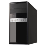 Spire 1016 computer case Micro-Tower Black,Silver 500 W