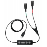 Jabra Link 265 audio cable USB2.0 2x QD Black