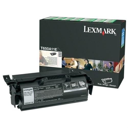 Lexmark T650A11E Toner black, 7K pages