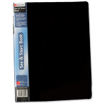 Rexel See And Store A4 Display Book 40 Pocket Black