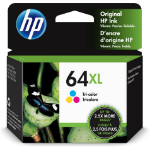HP 64XL High Yield Tri-color Original Ink Cartridge