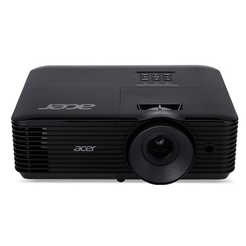 Acer Essential X118AH Ceiling-mounted projector 3600ANSI lumens DLP SVGA (800x600) Black data projector