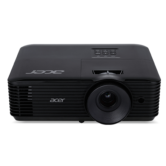 Acer Essential X118AH data projector 3600 ANSI lumens DLP SVGA (800x600) Ceiling-mounted projector Black