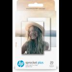 """HP ZINKâ""""¢ Sticky-backed Photo Paper-50 sht/5.8 x 8.7 cm"""
