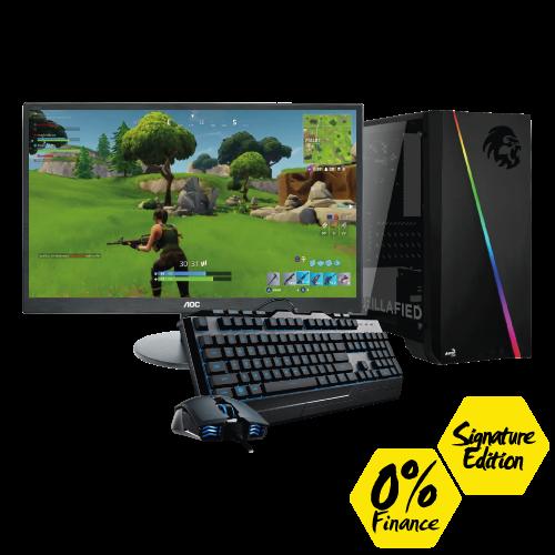 Gorilla Gaming Lite v2 Signature Edition - Ryzen 3 3200G 3.6GHz, 8GB RAM, 240GB SSD, GTX 1050 2GB