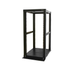 StarTech.com 25U Adjustable Depth 4 Post Open Frame Server Rack CabinetZZZZZ], 4POSTRACK25