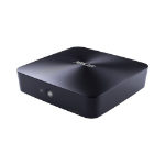 ASUS UN65H-M059M LGA 1356 (Socket B2) 2.3GHz i5-6200U 1L sized PC Black PC/workstation barebone