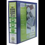 Elba 400008675 folder PVC Blue A4