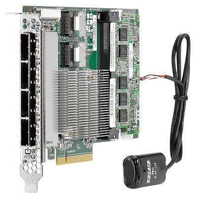 Hewlett Packard Enterprise SmartArray P822/2GB FBWC 6Gb 2-ports-Int/4-ports Ext SAS Controller PCI Express x8 3.0 RAID controller