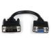 StarTech.com Adaptador Conversor de 20cm DVI-I a VGA - DVI-I Macho - HD15 Hembra - Cable Convertidor Negro