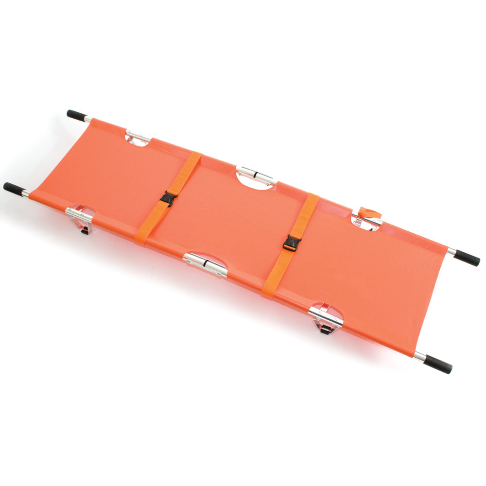 Reliance Medical Reliance Relequip Stretcher (Orange) with Alu Alloy Frame DD