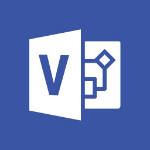 Microsoft Visio Professional 2019 1 license(s) Multilingual