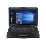 "Panasonic Toughbook 55 HD Notebook Black,Silver 35.6 cm (14"") 1366 x 768 pixels 8th gen Intel® Core™ i5 8 GB DDR4-SDRAM 256 GB SSD Wi-Fi 5 (802.11ac) Windows 10 Pro"