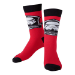 Star Wars The Force Awakens Adult Male Stormtrooper Logo Crew Socks, 43/46, Red/Black (CR310814STW-43/46)