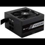Corsair TX550M power supply unit 550 W 20+4 pin ATX ATX Black