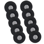 Jabra 14101-38 headphone pillow Black Foam 10 pcs