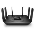Linksys EA9300 wireless router Tri-band (2.4 GHz / 5 GHz / 5 GHz) Black