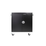 Leba NoteCart Unifit Portable device management cart Black,Grey