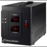 PowerWalker AVR 3000/SIV 230V Black voltage regulator