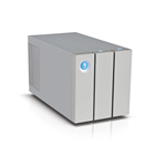 LaCie 2big Thunderbolt 2 12000GB Desktop Aluminium disk array