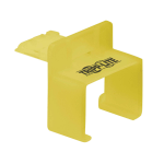 Tripp Lite N2LOCK-010-YW port blocker RJ-45 Yellow Plastic 10 pc(s)