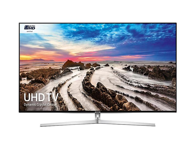 "Samsung UE49MU8000T 49"" 4K Ultra HD Smart TV Wi-Fi Silver LED TV"