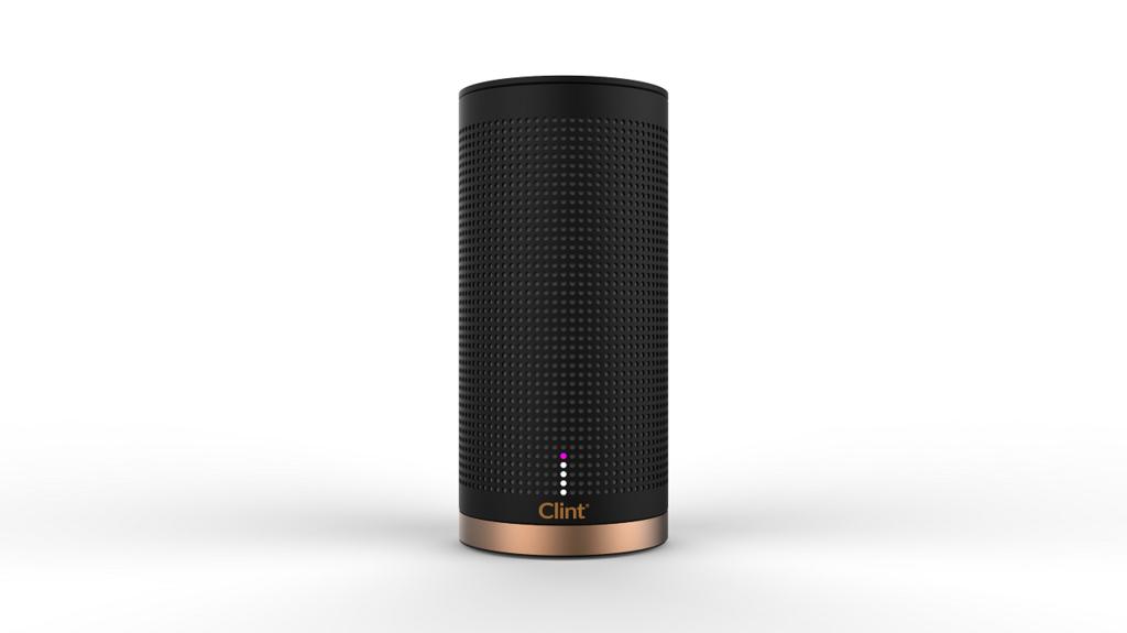 Clint Freya Bluetooth Mono portable speaker 7W Black, Gold
