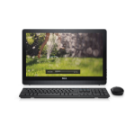 "DELL Inspiron 3264 2.4GHz i3-7100U 21.5"" 1920 x 1080pixels Touchscreen Black All-in-One PC"
