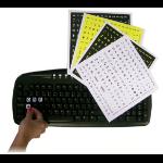 Keytools Large Print Stickers - 4 versions