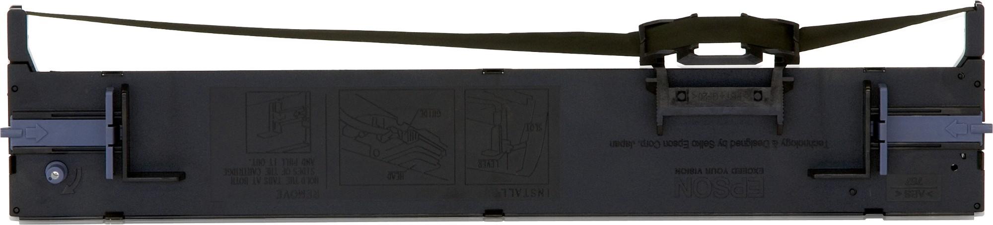 Epson Cartucho negro SIDM para LQ-690 (C13S015610)