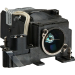 Plus Generic Complete Lamp for PLUS V3 -131 projector. Includes 1 year warranty.