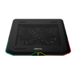 "DeepCool N80 RGB notebook cooling pad 43.9 cm (17.3"") 800 RPM Black"