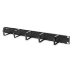 """Digitus Cable Management Panel with Cable Rings for 483 mm (19"""") Cabinets, 1U"""