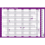 Sasco 2410138 wall planner Purple,White 2021