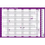 Sasco 2410138 wall planner Purple,White 2021