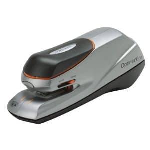 Rexel Optima Grip Electric Stapler Silver/Black