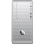 HP Pavilion 590-p0016 DDR4-SDRAM i3-8100 Mini Tower 8th gen Intel® Core™ i3 8 GB 1000 GB HDD Windows 10 Home PC Silver