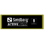 Sandberg Header for Alu Slatwall Active