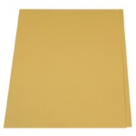Guildhall L SQUARE CUT FOLDER 315G YELLOW