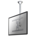 "Newstar TV/Monitor Ceiling Mount for 32""-60"" Screen, Height Adjustable - Silver"