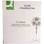 QCONNECT Q CONNECT FLOOR STANDING FAN 410MM16IN