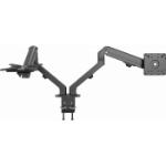 "Vision VFM-DAD/4 monitor mount / stand 68.6 cm (27"") Bolt-through Black"