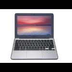 "ASUS Chromebook C202SA-GJ0025 1.6GHz N3060 11.6"" 1366 x 768pixels Blue,Grey Chromebook"
