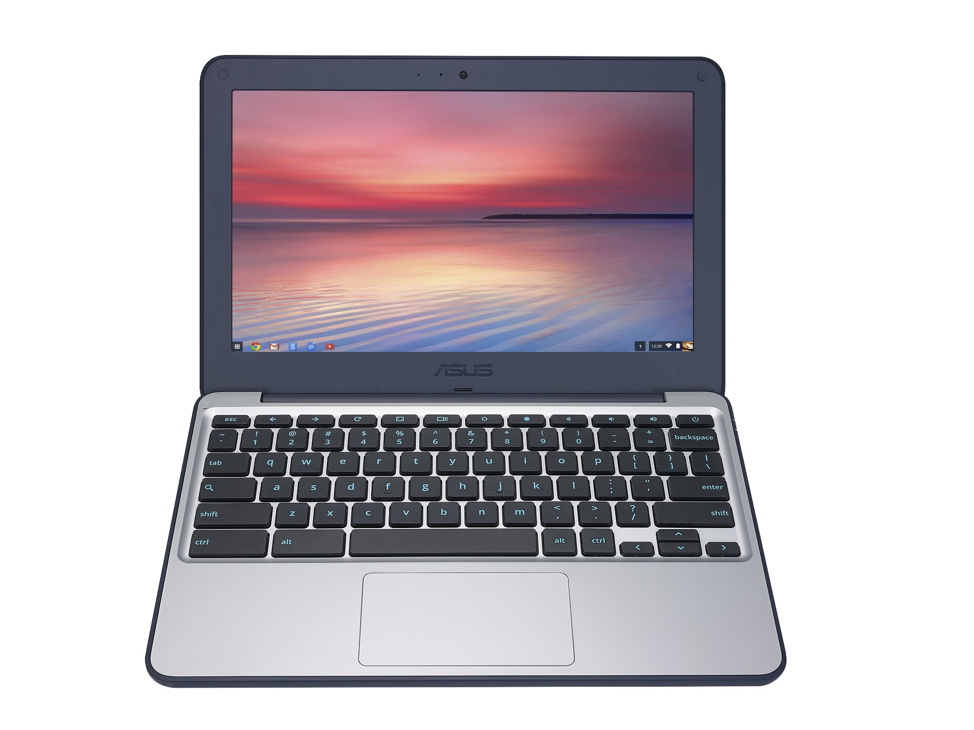 "ASUS Chromebook C202SA-GJ0025 1.6GHz N3060 11.6"" 1366 x 768pixels Blue,Grey Chromebook"