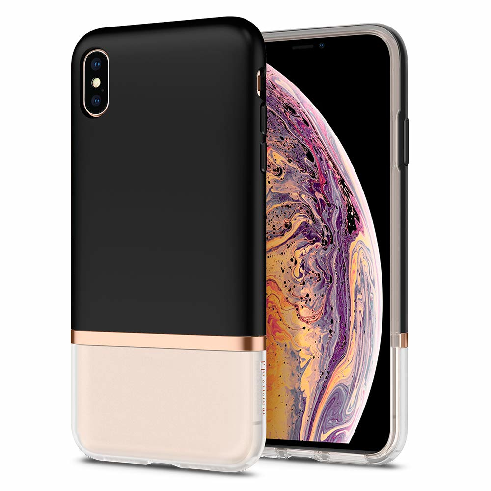 """Spigen 065CS25370 mobiele telefoon behuizingen 16,5 cm (6.5"""") Hoes Zwart"""