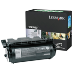 Lexmark 12A7460 Toner black, 5K pages @ 5% coverage